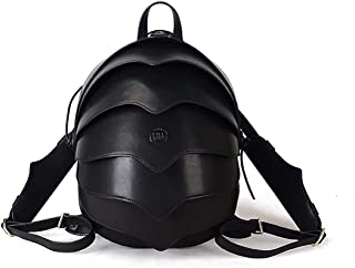 AUMI 4 Leather Small Backpack or Crossbody Beetle Bag - Unisex Backpack Purse