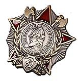 Gudeke WW2 Russia Soviet CCCP 2nd class Order of the Patriotic War badge distintivo Broche