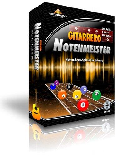 Gitarrero Notenmeister - Noten-Lern-Spiele für Gitarre