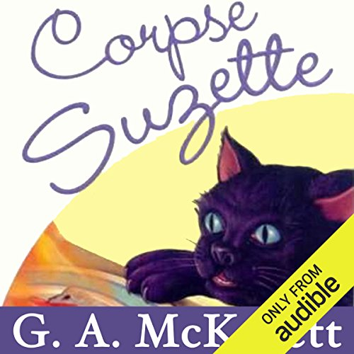 Corpse Suzette audiobook cover art