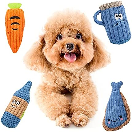 Quantity limited Squeaky Dog Toys Plush for Lar Dogs Medium Small Ranking integrated 1st place