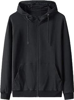 Puro cotone primavera e Autunno Sport Top Uomo cardigan Con Cappuccio Maglione oversize sciolto uomo sottile giacca