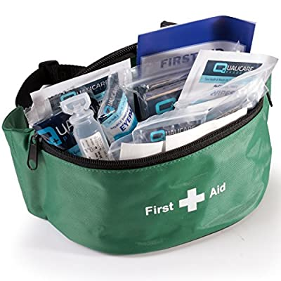 Bum Bag First Aid Kit | Portable Travel Hands-Free Hip Bag by White Hinge