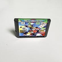 Lksya Micro Machines - Carte de jeu MD 16 bits pour cartouche de console de jeu vidéo Sega Megadrive Genesis (coquille amé...