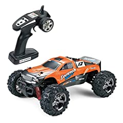 1. High Steady Quality Materials: The shell of this RC car is made of high-toughness and explosion-proof PVC. With its independent shockproof system, it can prevent damages caused by the vibration effectively, and the super-strong anti-collision stru...