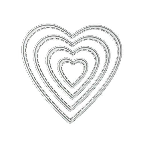 KaloryWee Scrapbooking Stanzschablone, Schablonen Stanzer Schneiden Geeignet für Big Shot Die Cut DIY Prägemaschine Papierbasteln Wandschablonen Handwerk Geburtstag Geschenk
