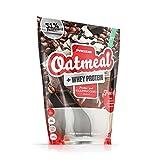 Prozis Harina de Avena con Whey Protein 1000 gr | Cereales Repletos de Hidratos de Carbono de Alta Calidad y Proteína | Sabor Pepitas de chocolate.
