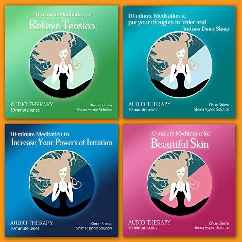 『10-minute English Meditation 1 (4本セット)』のカバーアート