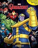 Vengadores Infinity War. Libroaventuras: Libro-juego. Incluye un cuento, figuritas y un tapete...