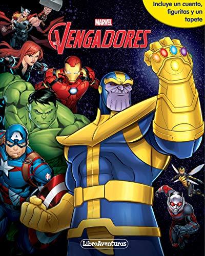 Vengadores Infinity War. Libroaventuras: Libro-juego. Incluye un cuento, figuritas y un tapete