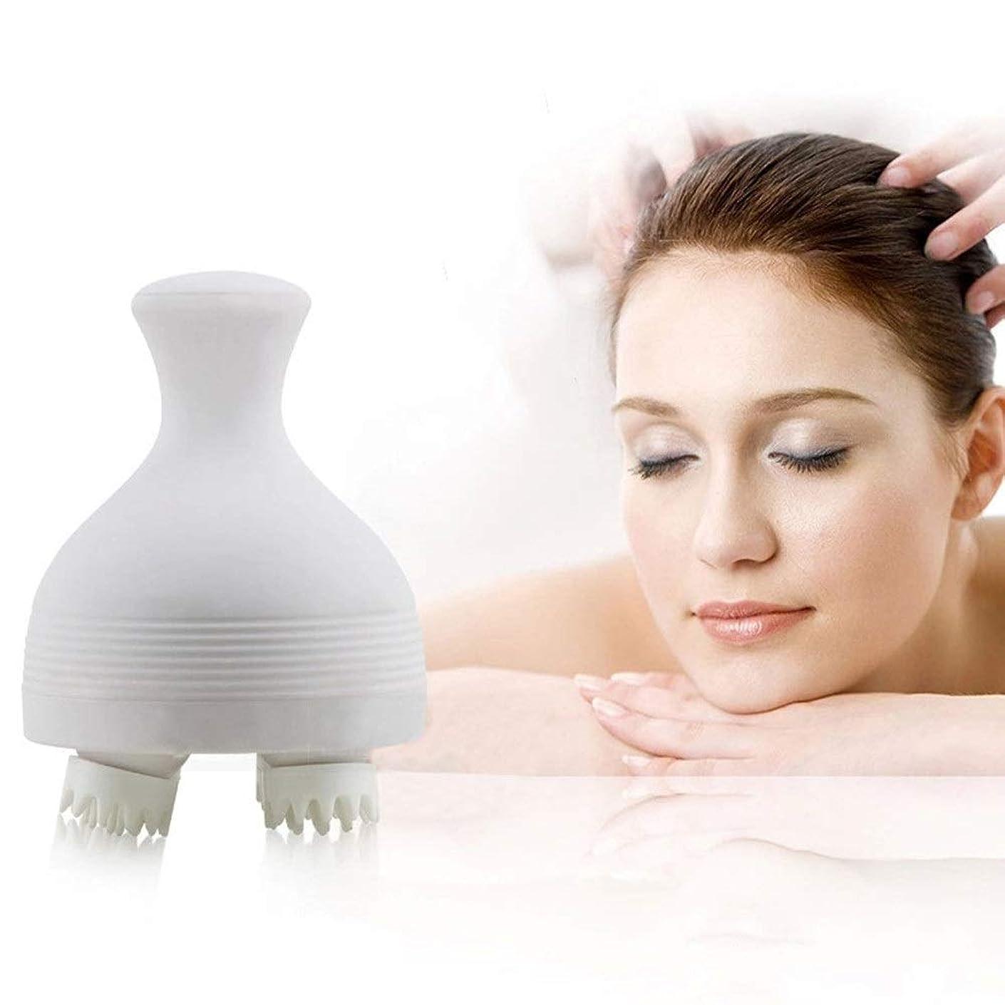 影響スポンサー低いヘッドスカルプマッサージ器具本体頸部ペット充電式充電式睡眠マルチ機能マッサージャーライフ防水