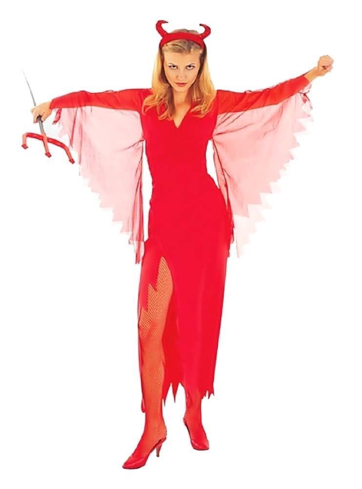 KIRALOVE Disfraz de Diablo - Demonio Infernal - Disfraces de Mujer ...