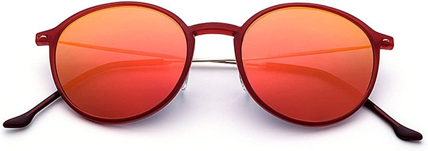 Women's Sunglasses Cute Round Shape Light TR90 Frame UV Predection for Driving Vacation Beach Outdoor Sunglasses