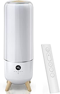 YZPJSQ Floor-Standing Ultrasonic Humidifier, 6L Water Tank, Air Diffuser Adjustable Humidity Mist Mode, Remote Control & LED Light, Floor Humidifier for Baby Bedroom