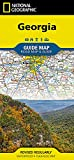 Georgia (National Geographic Guide Map)