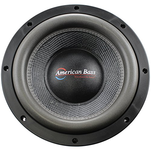 American Bass HD10D2 10' HD Series 3000 Watts Max Power Dual 2 Ohm Subwoofer