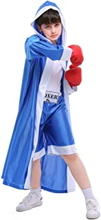 ROZKITCH Children Boxer Halloween Boxing Costume Dress-Up Role Play Party