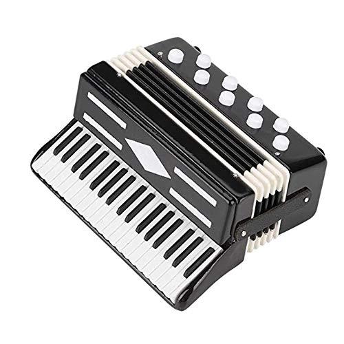 Mini Instrumento Musical De Acordeón En Miniatura para La Enseñanza De La Primera Infancia, Buen Regalo para Niños, Estudiantes Y Principiantes