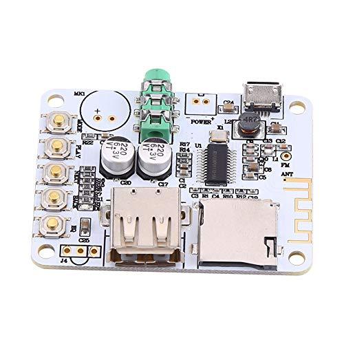 Alta calidad Nuevo receptor de audio Micrófono Amplificador USB TF FM MP3...