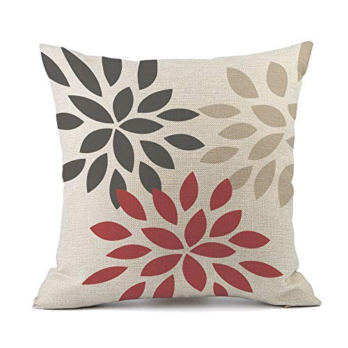 Pattern Throw Pillow Covers Cushion Case Home Decor for Livingroom Sofa Car Bedroom With Invisible Zipper 18x18 Inches