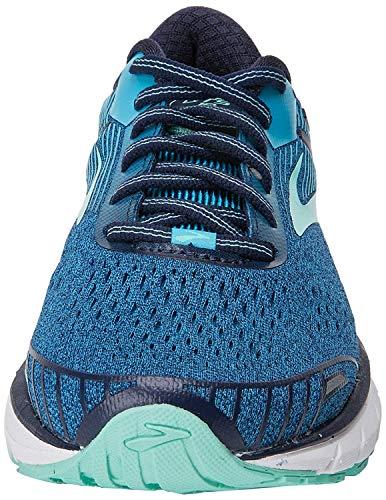 Brooks Adrenaline GTS 18, Chaussures de Running Femme, Bleu (Navy/Teal/Mint 1b495), 36 EU
