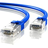Mr. Tronic 20m Cable de Red Ethernet Latiguillo | CAT6, AWG24, CCA, UTP, RJ45 (20 Metros, Azul)