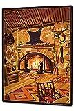 Habitación Retro Chimenea