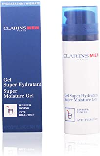Clarins Men Super Moisture Gel by Clarins for Men - 1.8 oz Gel, 54 milliliters
