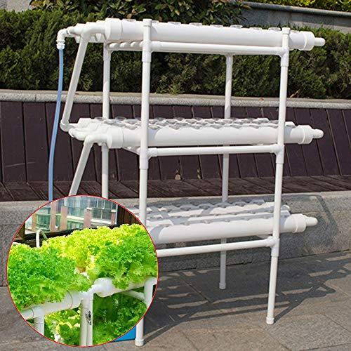 LianDu Hydroponic-Growkit 108 Pflanzenstandorte 3-Schicht-Pflanzengemüsewerkzeug Hydroponic-Grow-System