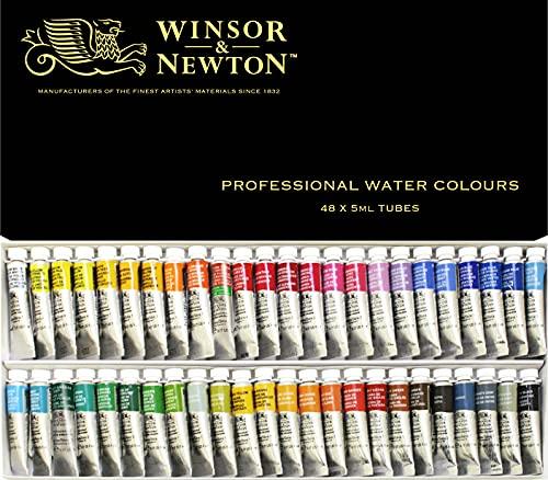 Winsor & Newton Artists Water 5ML tube 48C set (japan import)
