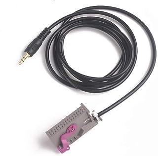 Aux in Anschluss Klinke 3,5mm mp3 Adapter geeignet für RNS E