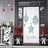 2 piezas de decoración de la etiqueta engomada de la puerta de...