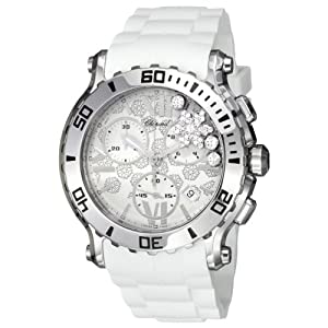 Chopard Women's 288499-3004 Happy Sport Round White Snow Flake Diamond Dial Watch Review and Buy NOW!!! and review image