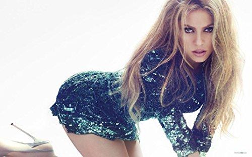 4-HOF206 Shakira 96cm x 60cm,38inch x 24inch Silk Print Poster
