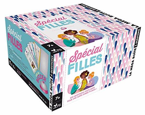 La mega boite à questions - Spécial filles - boite avec cartes et buzzer
