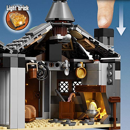 LEGO75947HarryPotterHagrid'sHut:Buckbeak'sRescuePlaysetwithHippogriffFigure,GiftIdeaforWizardingWorldFans