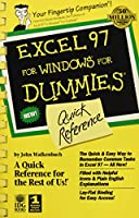 Excel 97 For Windows For Dummies: Quick Reference