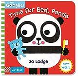 Wiggle and Giggle:Time for Bed Panda 幼儿行为礼仪规矩学习 启蒙机关操作书 纸板书