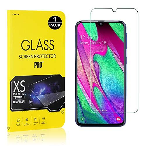 Bear Village® Displayschutzfolie für Galaxy A40, 9H Hart Schutzfilm aus Gehärtetem Glas, Ultra klar Displayschutz Schutzfolie für Samsung Galaxy A40, 1 Stück