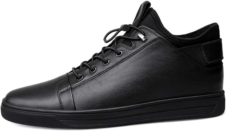 Yajie-shoes Herren Sneaker, Mode Lässig Einfache Und Weiche Britischen Stil Stil Stil Winter Fleece In Sportschuhe (Konventionell Optional) (Color : Schwarz, Größe : 38 EU) B07MKFLW3W  a38094