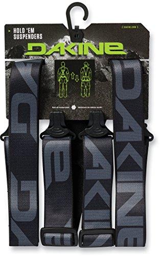 Dakine Hold'Em Suspenders Einheitsgröße Gürtel, black