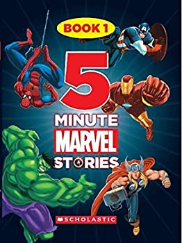 5 Minute Marvel Stories Book - Book  of the 5-Minute Stories