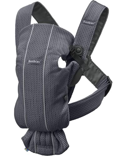 BABYBJÖRN Baby Carrier Mini, 3D Mesh, Anthracite