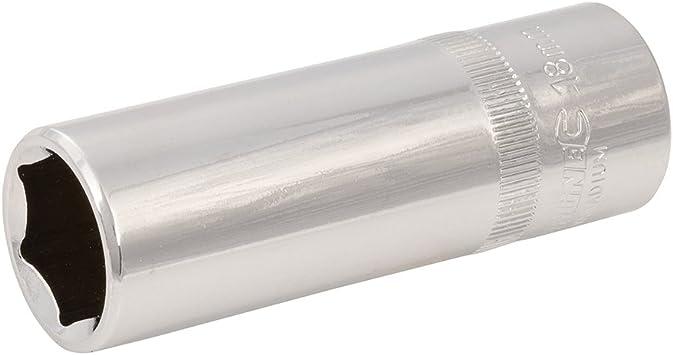 10 mm Silverline 673433 Socket 1//2-inch Drive Deep Metric