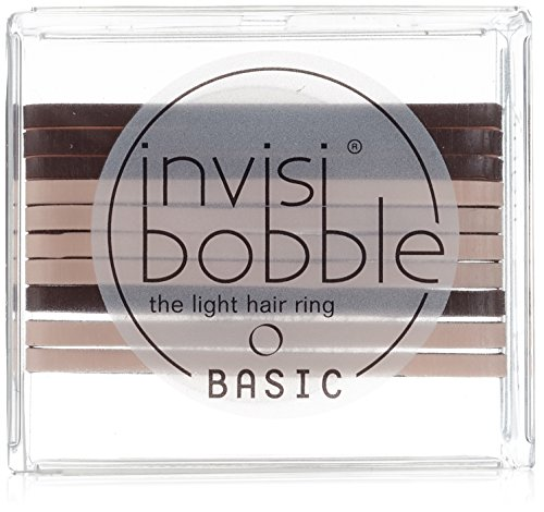 Invisibobble Basic Haargummis Mocca, 1 Packung (10 St.)