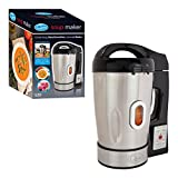 Quest Electric Soup & Smoothie Maker Machine - 800W 1.6L Stainless Steel Soup