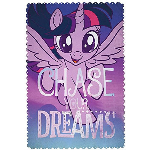 Couverture Polaire My Little Pony, Le Film - Inscriptions Larges