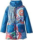 Desigual Kids niña 48e3096Chaqueta de invierno/Chaqueta/Abrigo Agua Azul Gaultier azul