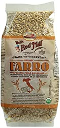 Bob's Red Mill Farro available to purchase on Amazon.