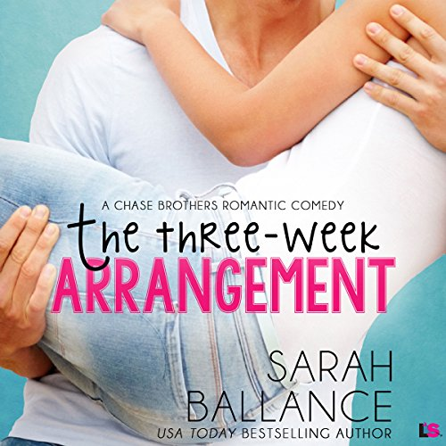 The Three Week Arrangement audiobook cover art